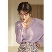 PLUS会员:DUSHU 独束 女士针织衫 21DS1260