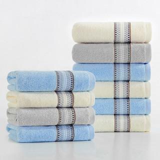 纯棉毛巾 10条装 (33*70cm)
