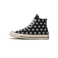 新款Chuck 70三星标男女款民族风印花高帮帆布鞋