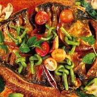 上海9店通用 158元享鱼非鱼2-3人烤鱼套餐
