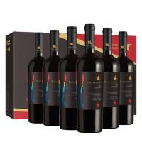 劳塔罗 佳美娜干红葡萄酒14.3度 智利星750ml*6 瓶装