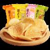 阿婆家的 薯片组合装 4口味 12包(烧烤味+番茄味+香辣味+原味)