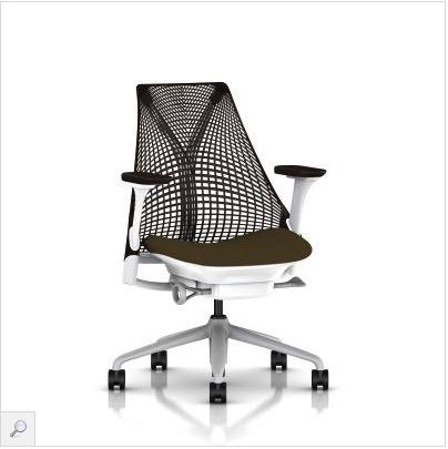 赫曼米勒 saly 座椅 棕色