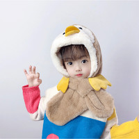 TUCANO 啄木鸟 冬季新款可爱卡通猫爪手套