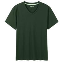 Baleno 班尼路 男士V领短袖T恤 88802702