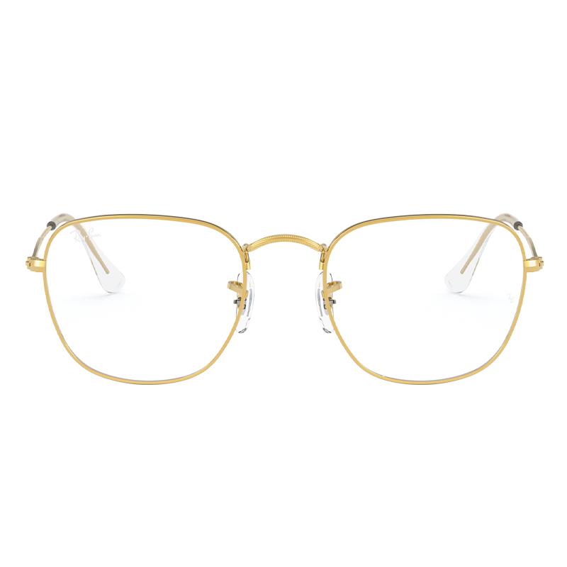 Ray-Ban 雷朋 0RX3857V 3086 合金眼镜架 复古金色