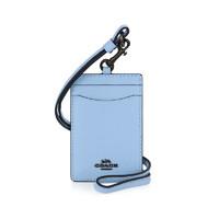 20点开始:COACH 蔻驰 女士蓝色皮质卡包 32319 V5QVE