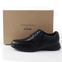 Clarks 其乐 男鞋休闲商务系带增高防滑皮鞋男