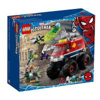 LEGO 乐高 超级英雄系列 76174 蜘蛛侠怪兽大脚车对决神秘客