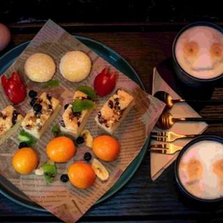 上海中海油大厦店 亚朵S酒店餐厅 68元双人轻享下午茶