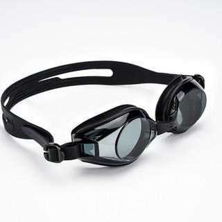 hosa 浩沙 成人高清防雾防水专业泳镜 黑色