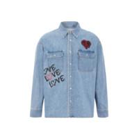 Calvin Klein 卡尔文·克莱 男士长袖衬衫 J318383