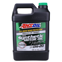 PLUS会员:AMSOIL 安索 润滑油 0W-20 SN 3.78L 签名版ASM1G