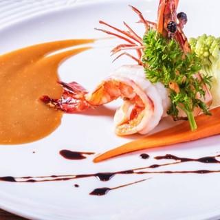 上海北外滩 米其林餐厅 浦华大酒店·讚·法式铁板烧 双人套餐