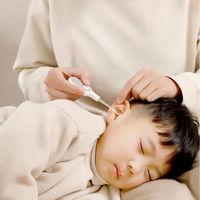 FaSoLa 发光挖耳勺 婴儿儿童软头掏耳朵神器硅胶带灯可视安全套装  发光挖耳勺(帯放大镜)绿色