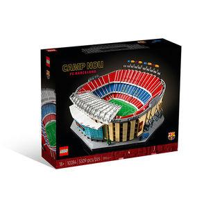 创意百变高手系列 10284 巴塞罗那诺坎普球场