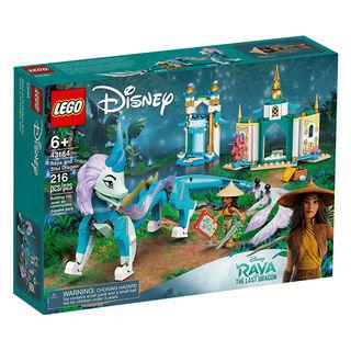 Disney迪士尼系列 43184 拉雅与神龙