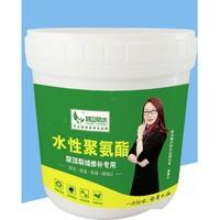 精卫 水性聚氨酯 防腐防水补漏涂料 白色 1KG