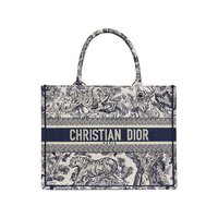 Dior 迪奥 女士蓝色印花帆布小手袋 M1296ZTDT_M808