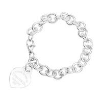 黑卡会员:Tiffany&Co. 蒂芙尼 RETURN TO TIFFANY系列 心形吊牌手链 18967537