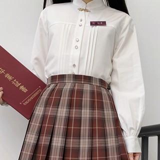 JK制服 弥华 相思集 白色长袖衬衫