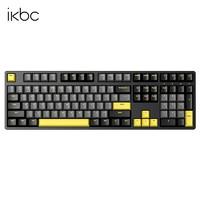iKBC W210 无线机械键盘 108键 茶轴 松烟玉
