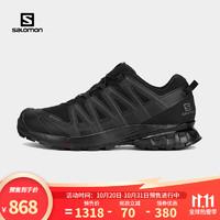 salomon 萨洛蒙 Salomon)男款 户外运动防水透气减震防护登山徒步鞋 XA PRO 3D v8 GTX 黑色 409889 UK8(42)