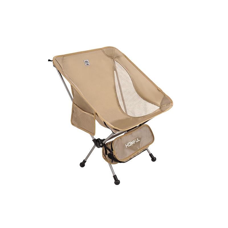 HOMFUL 皓风 户外折叠椅 X01045 卡其色