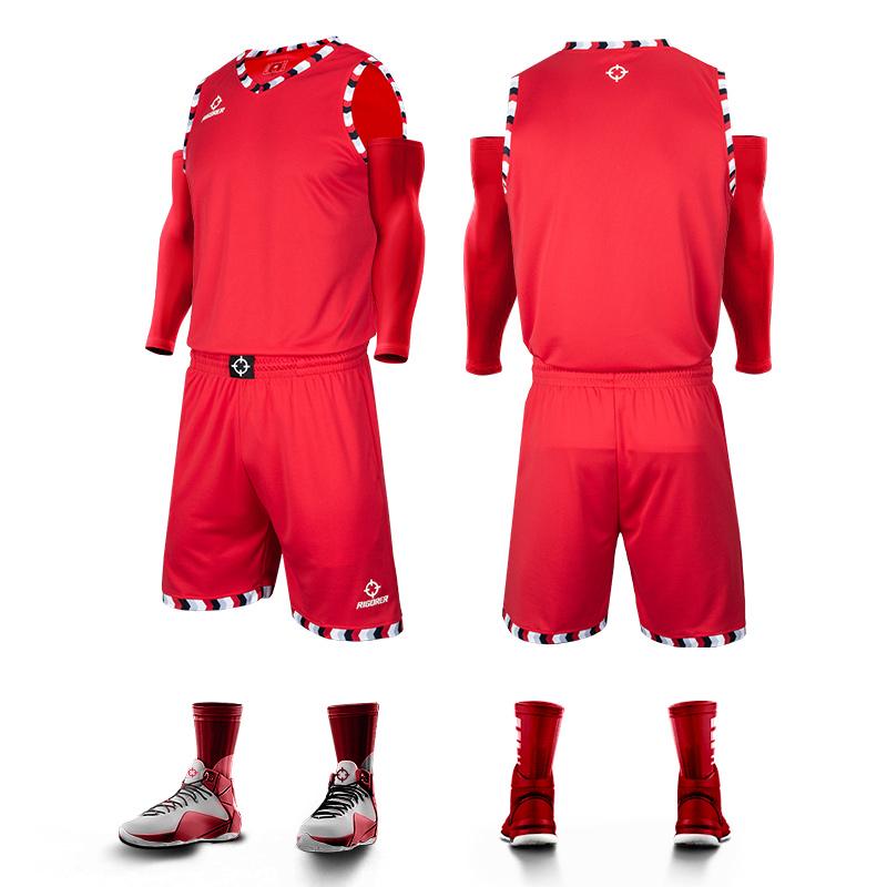 RIGORER 准者 Z121310105-1 篮球服套装