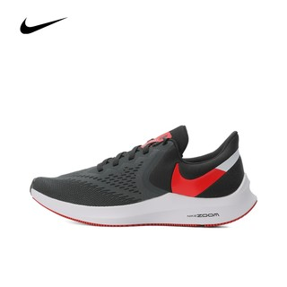 NIKE 耐克 Nike耐克2021新款男子ZOOM WINFLO 6气垫运动跑步鞋AQ7497-008
