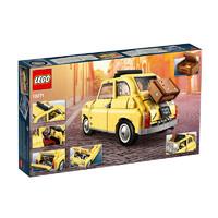 黑卡会员:LEGO 乐高 创意百变高手系列 10271 菲亚特 Fiat 500