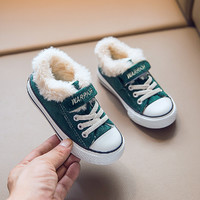 WARRIOR 回力 儿童帆布防滑棉鞋