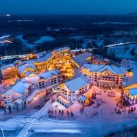 双11预售:雪季1晚通兑 吉林三大滑雪度假区6家酒店 含2大1小滑雪权益