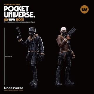 """口袋宇宙POCKET UNIVERSE 系列 WWR 3.75"""" NOM"""