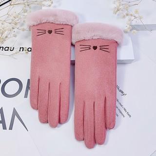 千美艳 加厚可触屏保暖手套 MM604