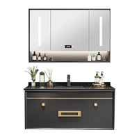 KUKa 顾家家居 G-06292 轻奢实木智能镜柜 100cm