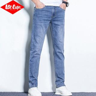 Lee Cooper 2021秋季男士直筒牛仔裤 LRTX1213