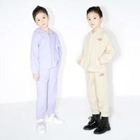 1日0点:Little MO&CO. 女童摇粒绒长裤