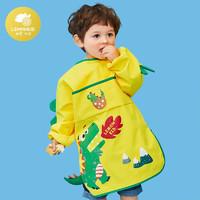 lemonkid 柠檬宝宝 罩衣加长款包包衣11104 乐奇喷火龙 S