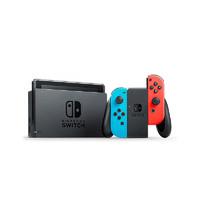 黑卡会员:Nintendo 任天堂 日版 Switch游戏主机 续航增强版 红蓝