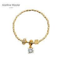 PLUS会员:Martine Wester 瑪汀薇思 水晶手链 MW17-006G