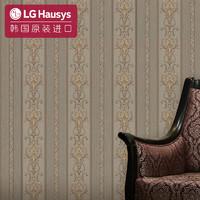 LG Hausys LG原装进口壁纸 1005-4哥特竖条纹-赭石金