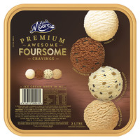 PLUS会员:MUCHMOORE 玛琪摩尔 冰淇淋 大桶装2L