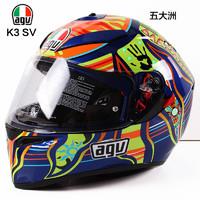 AGV 摩托车头盔全盔K3