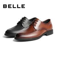 BeLLE 百丽 CF01DCM9 男士商务正装皮鞋