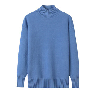 茵诗黛尔 一体绒半高领毛衣女士秋冬加绒加厚打底衫内衣单件外穿时尚保暖衣