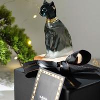 大英博物馆 柔风呢喃,解读天气密语—安德森猫系列埃及风暴瓶摆件 5.5x13.5cm 装饰品家居摆件