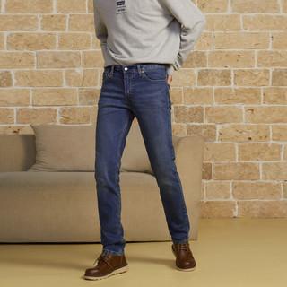 Levi's 李维斯 男士511低腰修身时尚牛仔裤 04511-5188