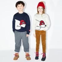 88VIP:Little MO&CO. 儿童薄绒卫衣
