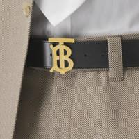 BURBERRY 博柏利 8039347 男士字母搭扣腰带